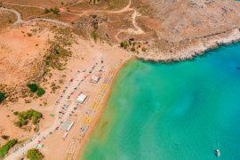 Agathi spiaggia
