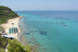 Kalithea, la spiaggia delle antiche terme